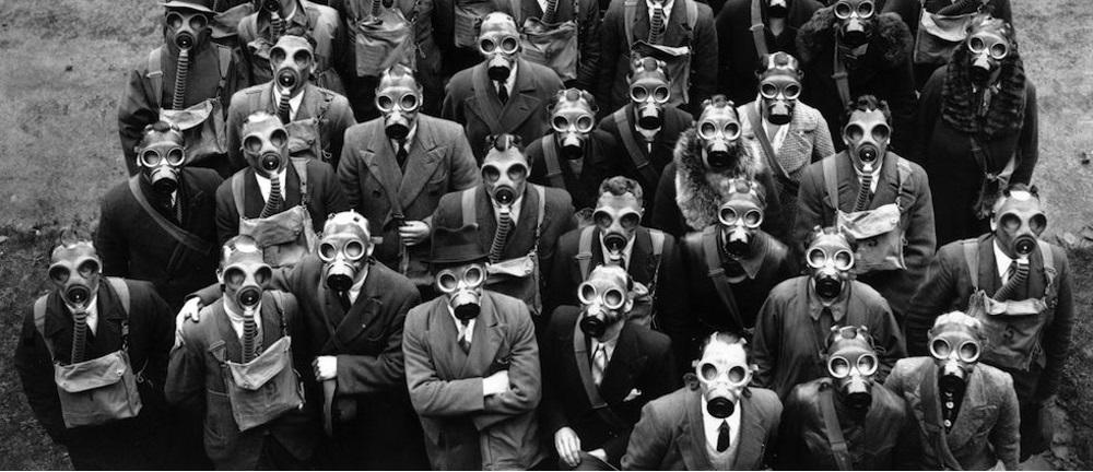 Historia de la máscara de gas