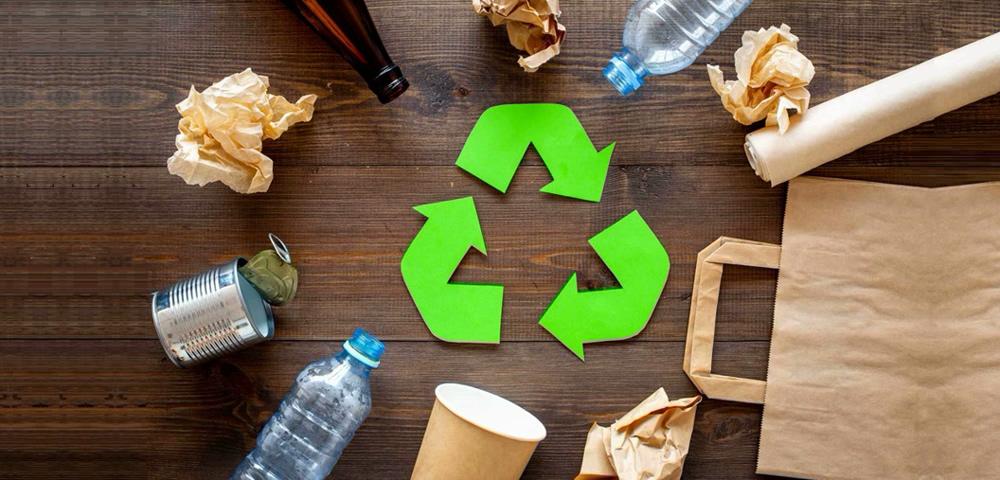 Transformación de residuos en objetos útiles
